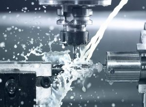 CNC machining for rapid manufacturing.